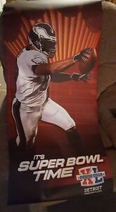 Philedelphia Eagles Tyrell Owens Superbowl banner