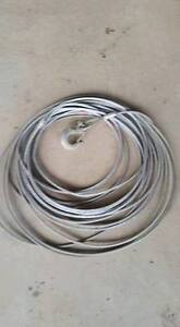 """3/8"""" Winch Line - 94 Feet with hook"""