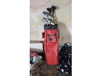 Retro Golf clubs