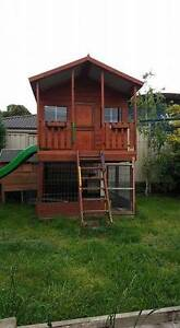 Aarons Mansion Elevated Cubby House Whittlesea Whittlesea Area Preview