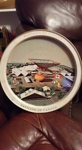 1967 expo vintage metal tray...very hard to come by $10