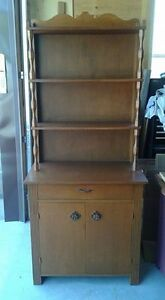 Solid wood cupboard in excellent condition