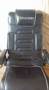 X ROCKER GAMING CHAIR;  Sale or trade