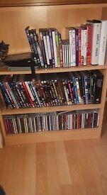 CD/DVD Unit in Beech