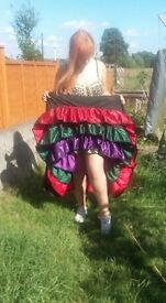 Gorgeous Can-Can Skirt Burlesque / Moulin Rouge / Fancy dress