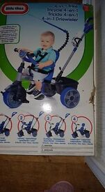 little tikes 4 in 1 bike brand new colour blue