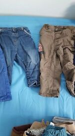 boys 12-18 month trousers