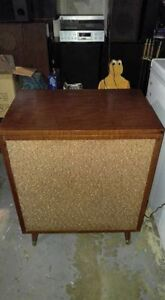 vintage consol with bluetooth installed