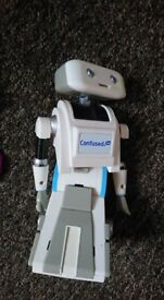 Confused dot com robot Brian toy collectable