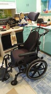 Sunrise medical tilt wheel chair