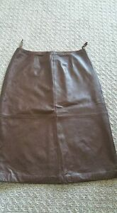 GAP Brown leather skirt, very soft, great condition