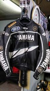 Yamaha branded leather jacket