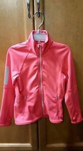 4T H&M sports jacket - neon pink - excellent condition