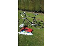 giant road bike 540cm (medium)frame