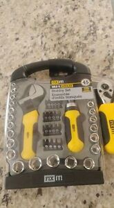 New 45pc Stubby tool set