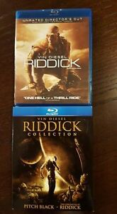 Pitch Black, The Chronicles of Riddick and Riddick Blurays Prince George British Columbia image 1