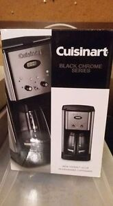 Brand new Cuisinart 12 cup coffee maker