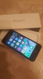 IPHONE 5 ON EE IN EXCELLENT CONDITION, JUST HAS TINY BLEMISH AS SEEN IN PICS HARDLY NOTICEABLE.