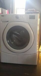 4 year old front load washer