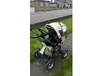 Pushchair with compatible Car seat