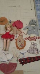 1950s ideal doll wordrobe and trunk