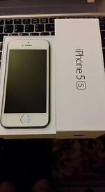 IMMACULATE CONDITION IPHONE 5S 16GB ON VODAFONE NETWORK COMPLETE WITH BOX