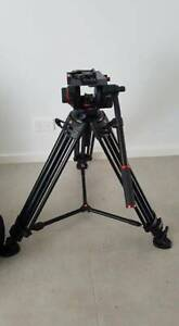 Manfrotto 504HD Head with 546B 2-Stage Aluminium Tripod System