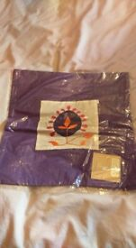 Purple cushion cover, 2pcs in pack
