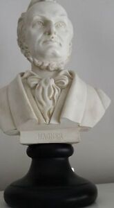 Wagner and Mendolson Composer bust