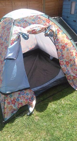 cath kidston (by eurohike) 3 man tent with carry bag & cath kidston (by eurohike) 3 man tent with carry bag | in Truro ...