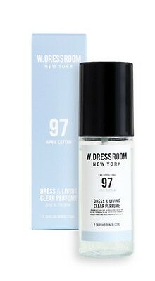 W.Dressroom Perfume Air Fresheners Home Fragrances Spray 70ml [97 April Cotton]