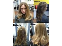 << Off Peak Discount >> Highlight T-section £28, Half-head £40, Full head £56, Re-growth tint £24