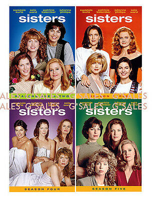 Sisters TV Series Complete Season 1-5 (1 2 3 4 5) BRAND NEW 25-DISC DVD SET