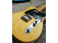 2008 Fender Telecaster 52 Hot Rod reissue, relic'd and upgraded .