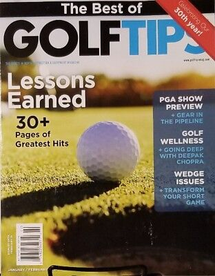 The Best Of Golf Tips  Feb 2018 Lessons Earned 30 Greatest Hits FREE SHIPPING