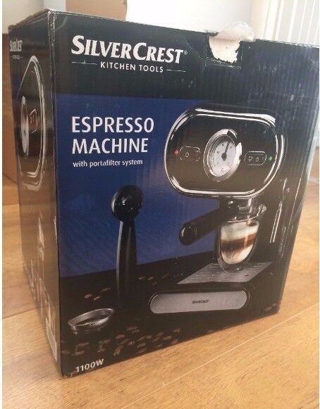 Brand New Lidl Silvercrest Espresso Maschine Sem 1100 B3 With 2year Warranty 1 Free Bag Of Coffee In Fallowfield Manchester Gumtree