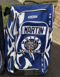 2 Grit Tower Hockey Bag Whitby Wolves