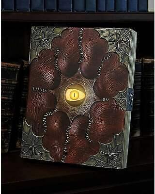 Evil Eye Spellbook 14 Inch Animated Halloween Spell Book Prop Decoration NIB