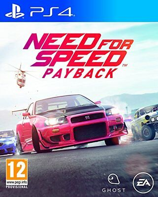 NEED FOR SPEED PAYBACK VERSIONE UFFICIALE ITALIANA COME NUOVO PS4