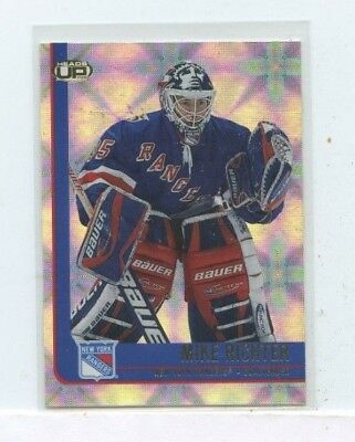 MIKE RICHTER 2001-02 Pacific Heads-Up Rangers Hockey Card #66