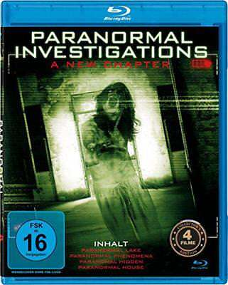 Paranormal Investigations A New Chapter Blu-ray NEU OVP 4 Filme Grusel Horror