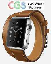 Apple Watch Hermes Double Tour 38mm Fauve Barenia (Brown) Leather Yanchep Wanneroo Area Preview
