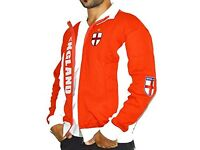 Red and white England jacket