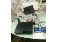 Ps3 console bundle with 3 games+1 pad+headset