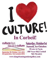Culture Days in Corbeil CALL TO ARTIST/ BOOTH REGISTRATION