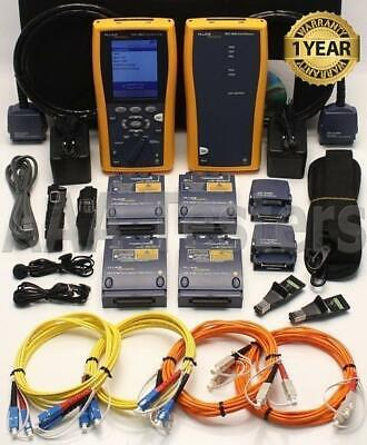 Fluke Dtx-1800 Cat6 Sm Mm Fiber Cable Analyzer Dtx-sfm Dtx-mfm Dtx-1800-ms