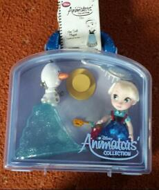 Disney Elsa Animators collection doll and accessories
