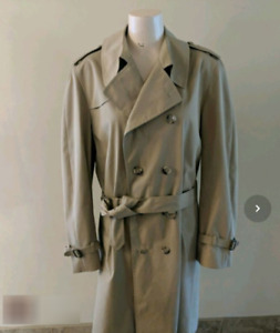 Vintage Men's London Fog Trench Coat