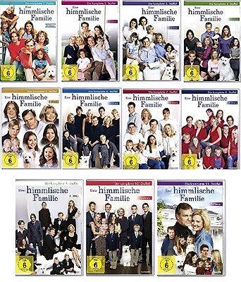 55 DVDs * EINE HIMMLISCHE FAMILIE - KOMPLETTE SERIE 1-11 IM SET # NEU OVP $