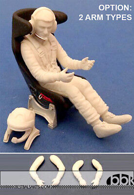 1/24 MODERN RALLY DRIVER FIGURE for TAMIYA BELKITS REVELL HELLER HASEGAWA